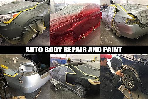 Auto Body Paint Poway