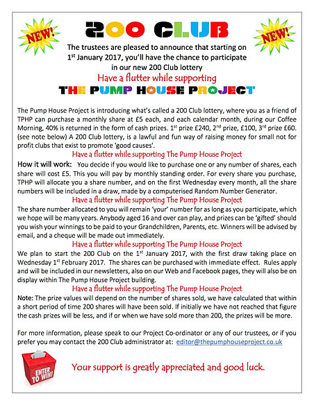 The pump house project