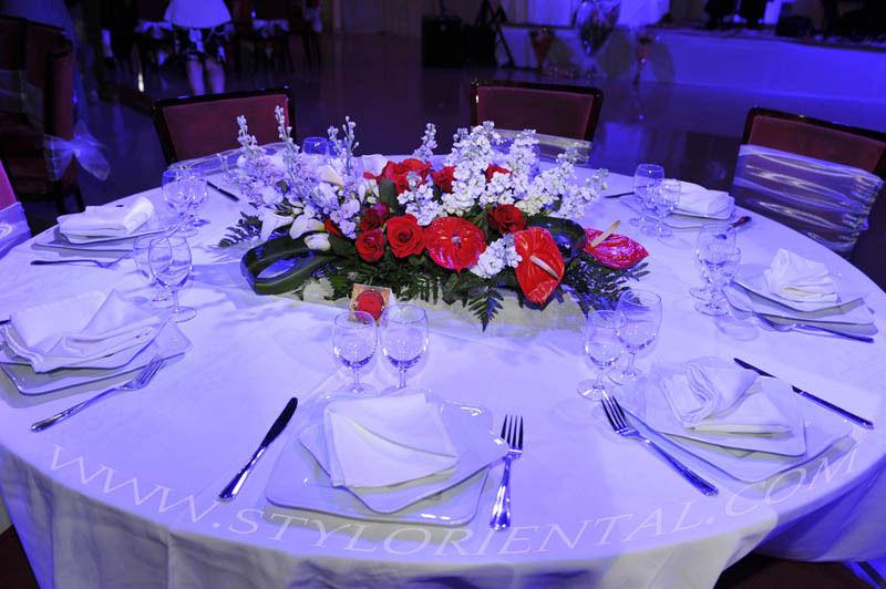 orientale mariage bruxelles : décoration salle et tables de mariage ...