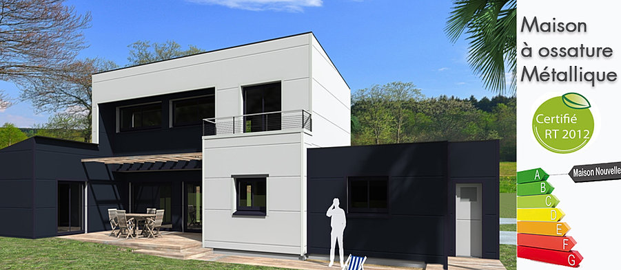 Maison nouvelle for Construire maison 77