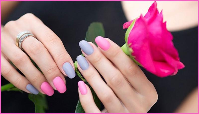 Фото рук лаков разных цветов