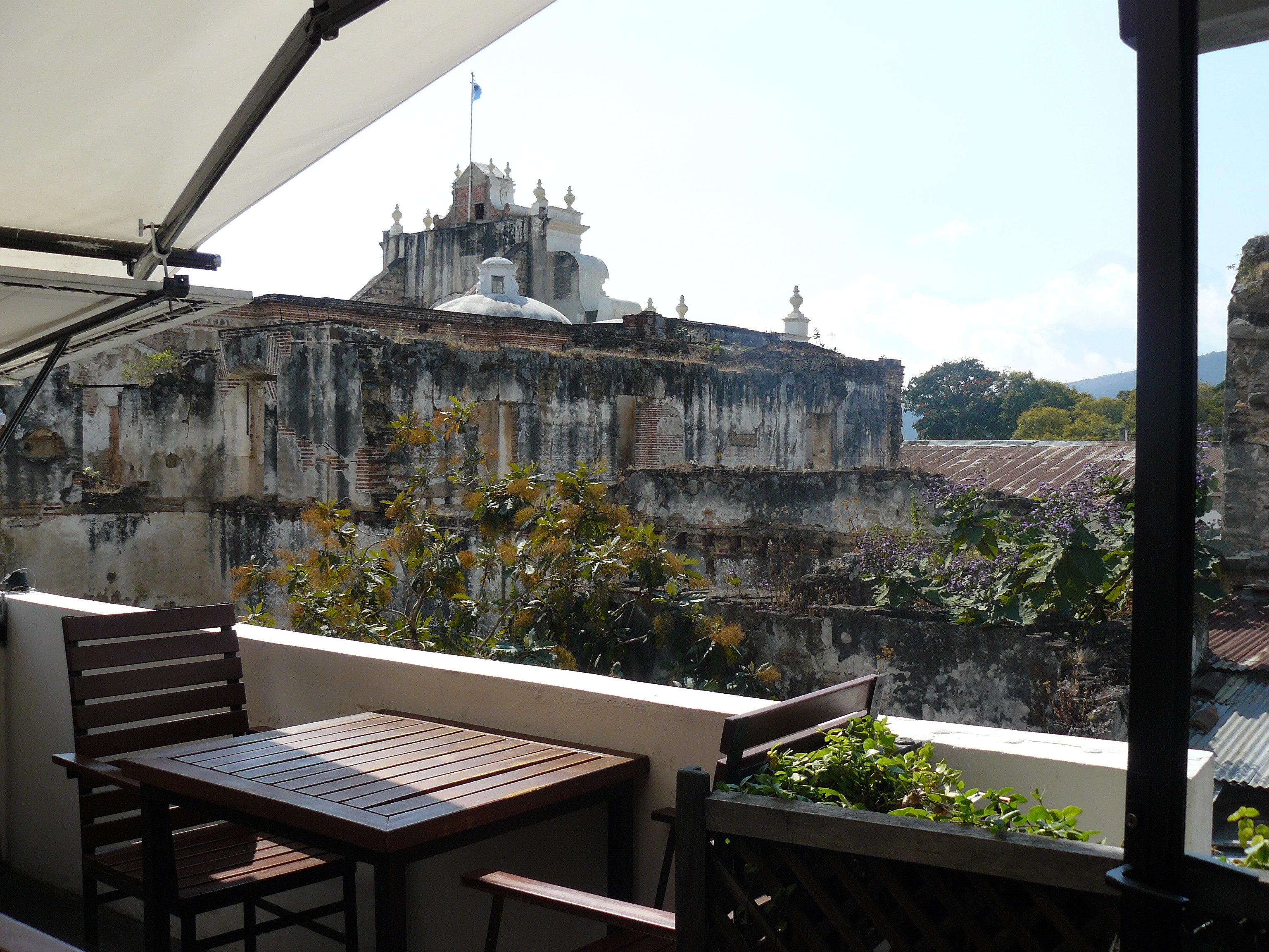 Tartines restaurant antigua guatemala restaurant terrace for The terrace restaurant