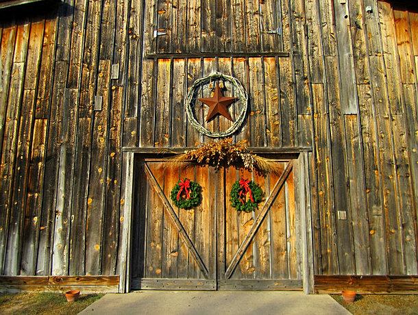 In summer jack s barn entrance jack s barn door