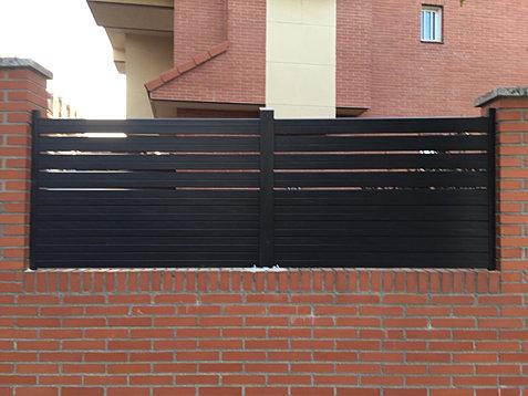 Vallas sinteticas imitacion madera - Vallas para muros ...
