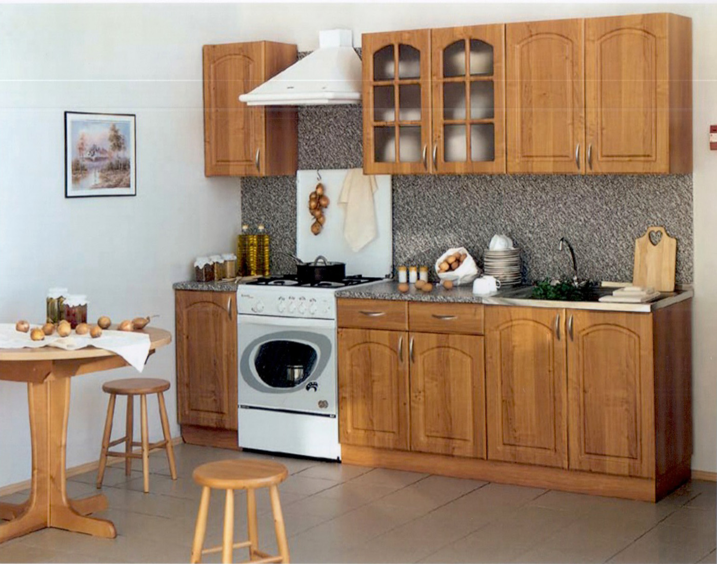 Кухни - эконом мебель.