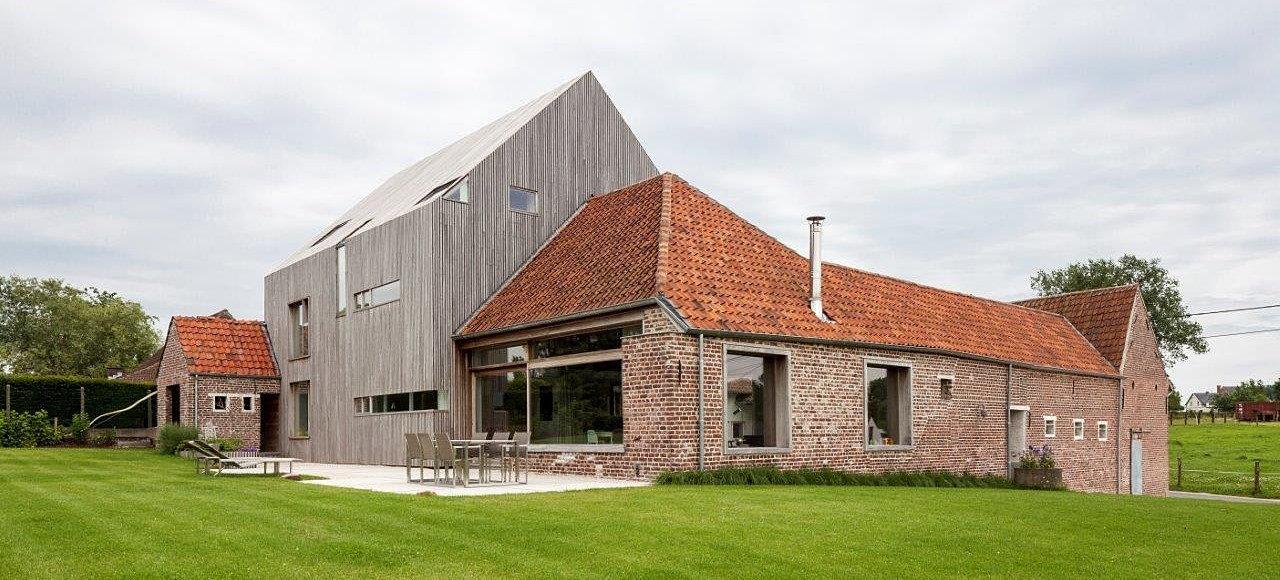 Lies boelaert architect architect - Voor na gerenoveerd huis ...