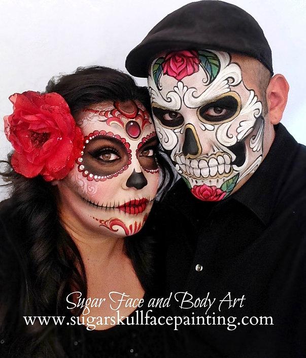 Sugar Skull Makeup Artists