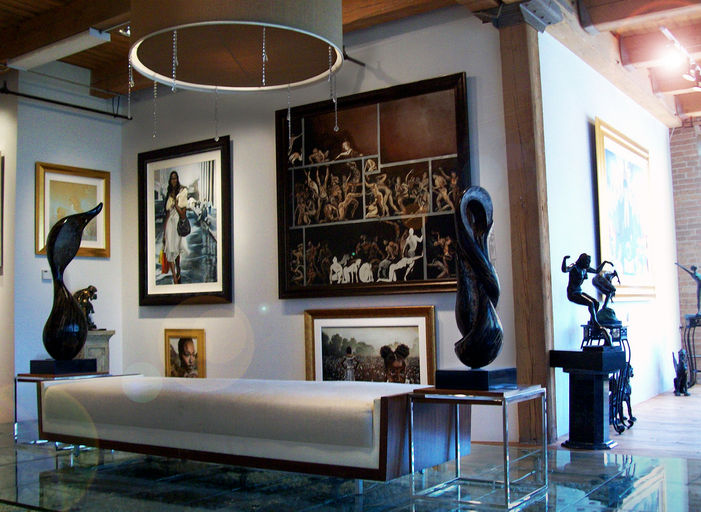 Griffin gallery and interiors african american fine art for African american interior decorators