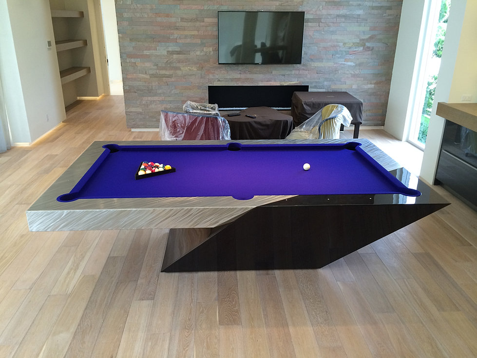 stainless steel pool table the catalina