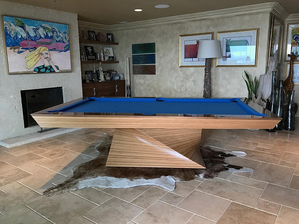 Pool Table Designs billiards table custom log home design mlbt376 Mitchell Pool Tables The Nautilus