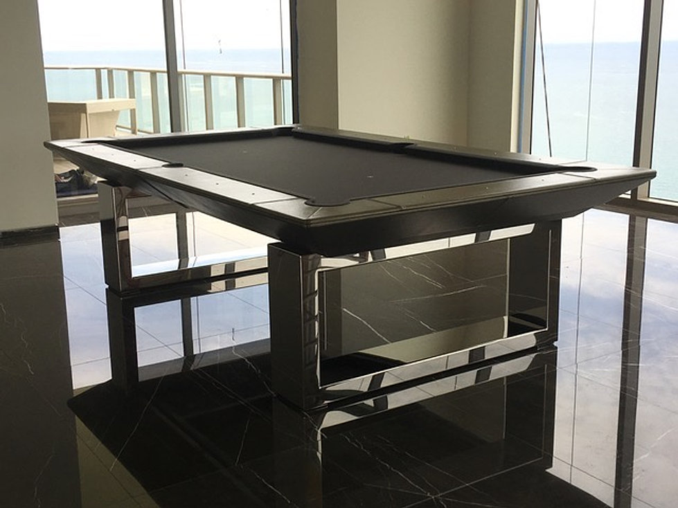 Pool Table Designs vibe pool table from billiards by design Monaco