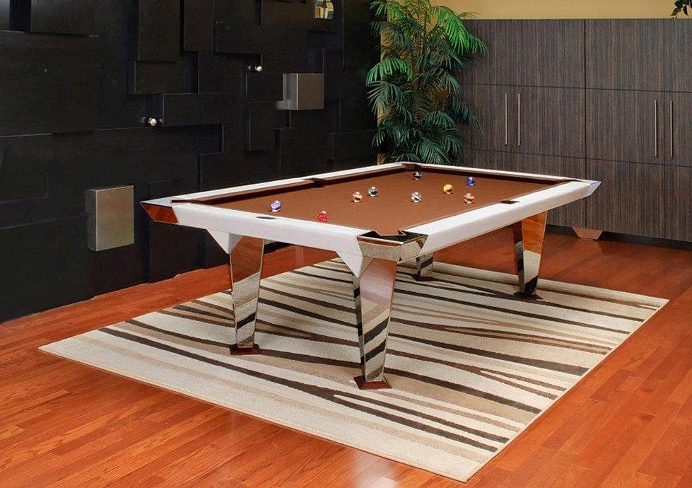 Pool Table Designs mars metal pool table Mitchell Pool Tables The Milano