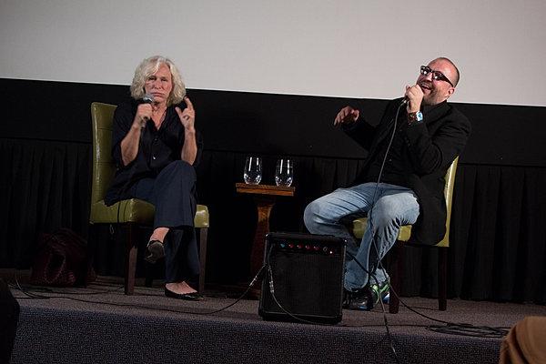 Glenn Close and MSF's Robert Milazzo