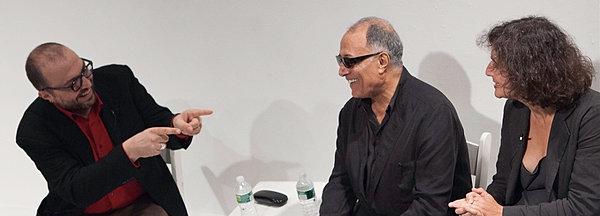 Robert Milazzo and Abbas Kiarostami