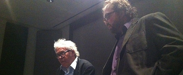 Jorgen Leth and MSF's Robert Milazzo