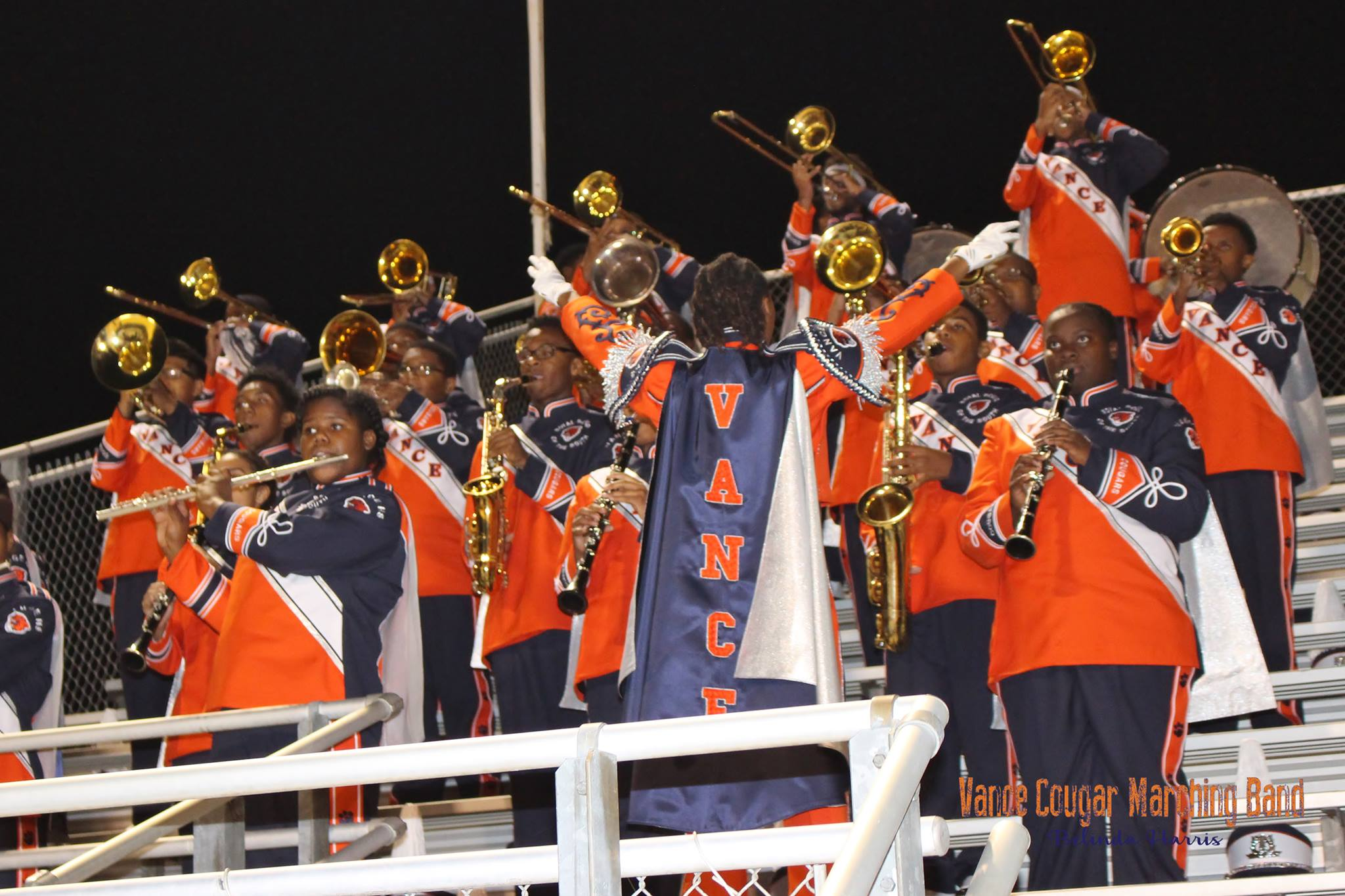 vance cougar marching band