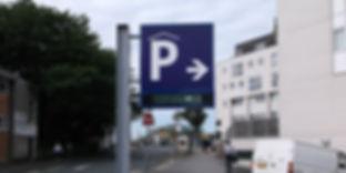 LED Car Park Sign