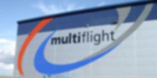 Multiflight large vinyl graphics