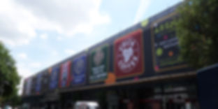 Large mesh banner in leeds