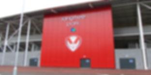 Langtree stadium signage