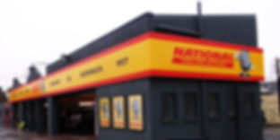 National Tyres Fascia Sign