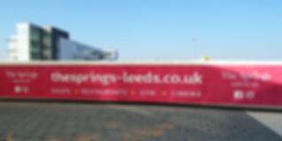 Leeds hoarding sign
