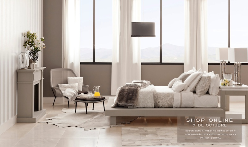 le damos la bienvenida a zara home online rl report m xico. Black Bedroom Furniture Sets. Home Design Ideas