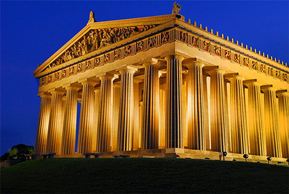 بنای آکروپولیس (acropolis)