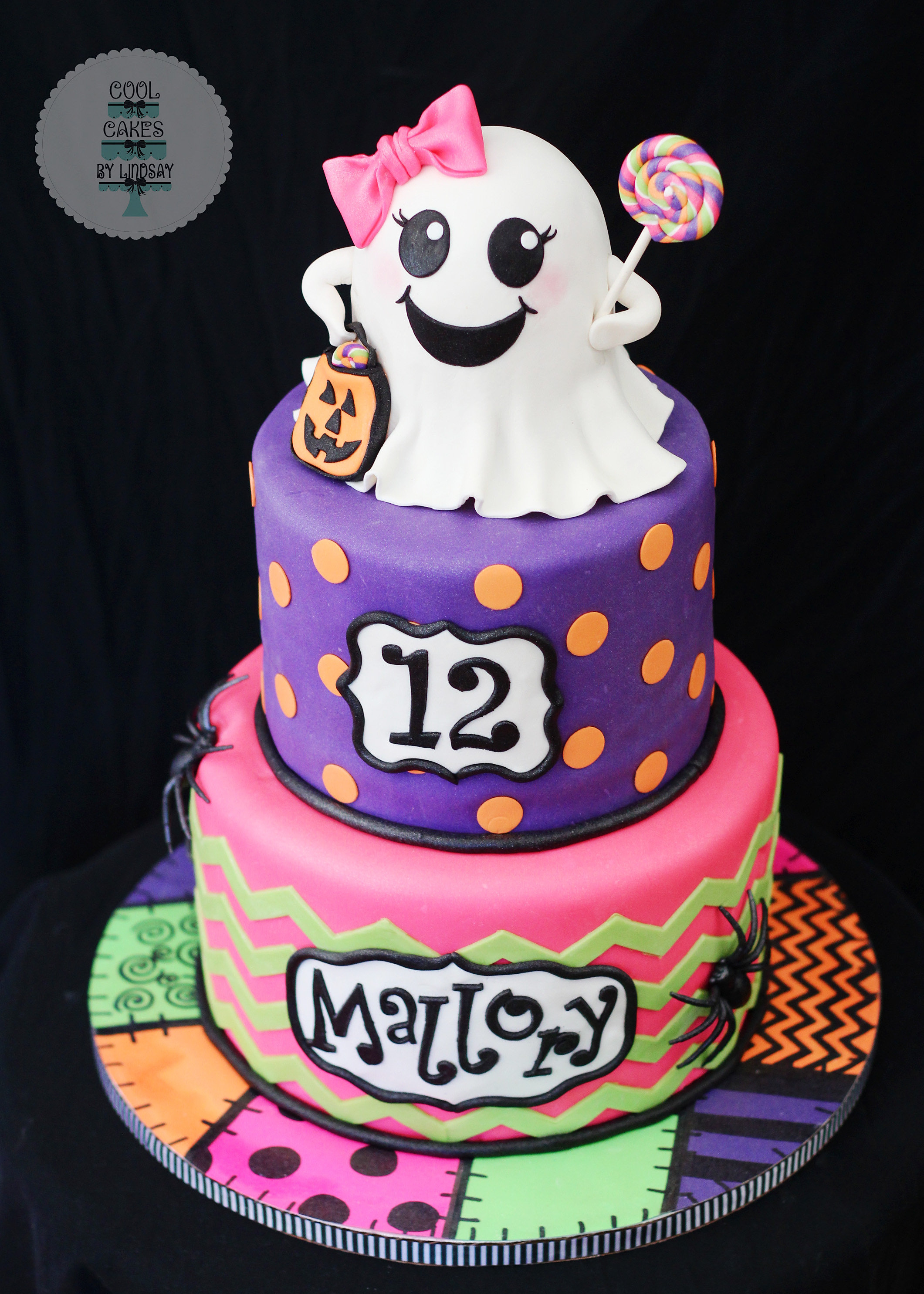 How To Make A Ghost Cake Topper