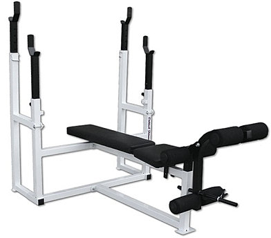 The DF1050 Olympic Squat Combo Bench at Deltech Fitness