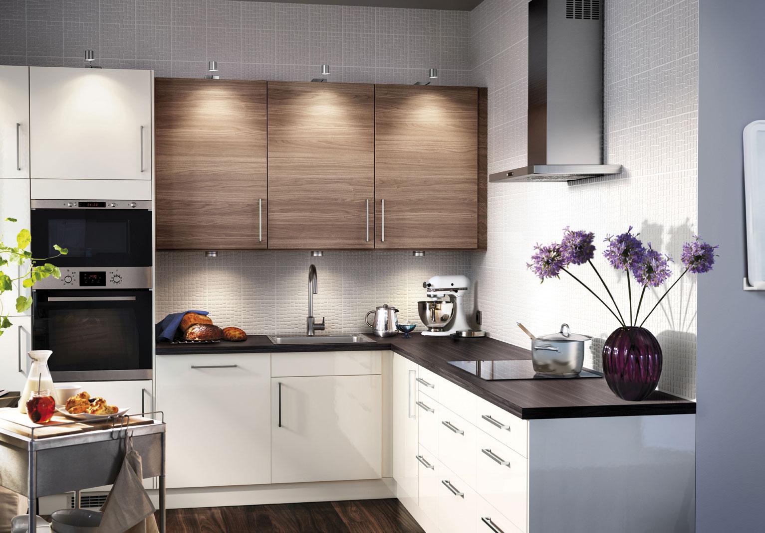 Дизайн кухонь из икеа