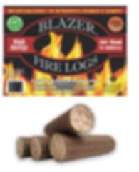 Blazer Fire Logs