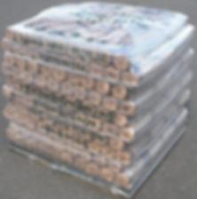 Home Prest Logs - Full Pallet