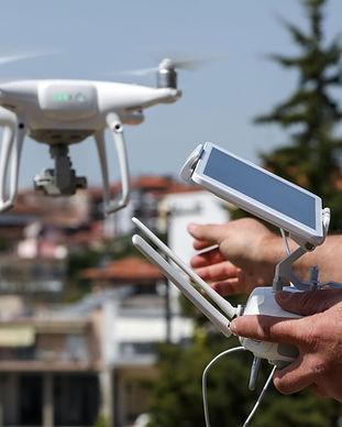 drone video montage edit