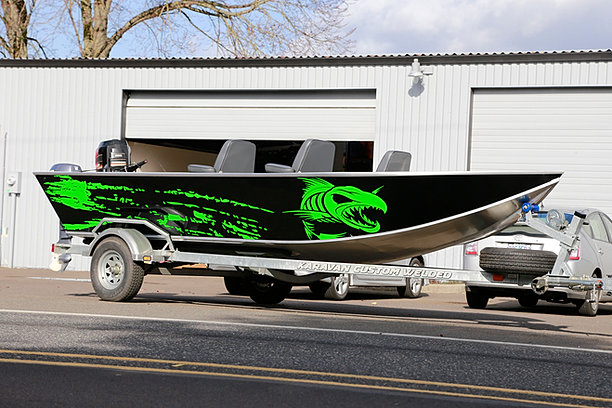 Canby graphics wraps oregon for Fishing boat wraps