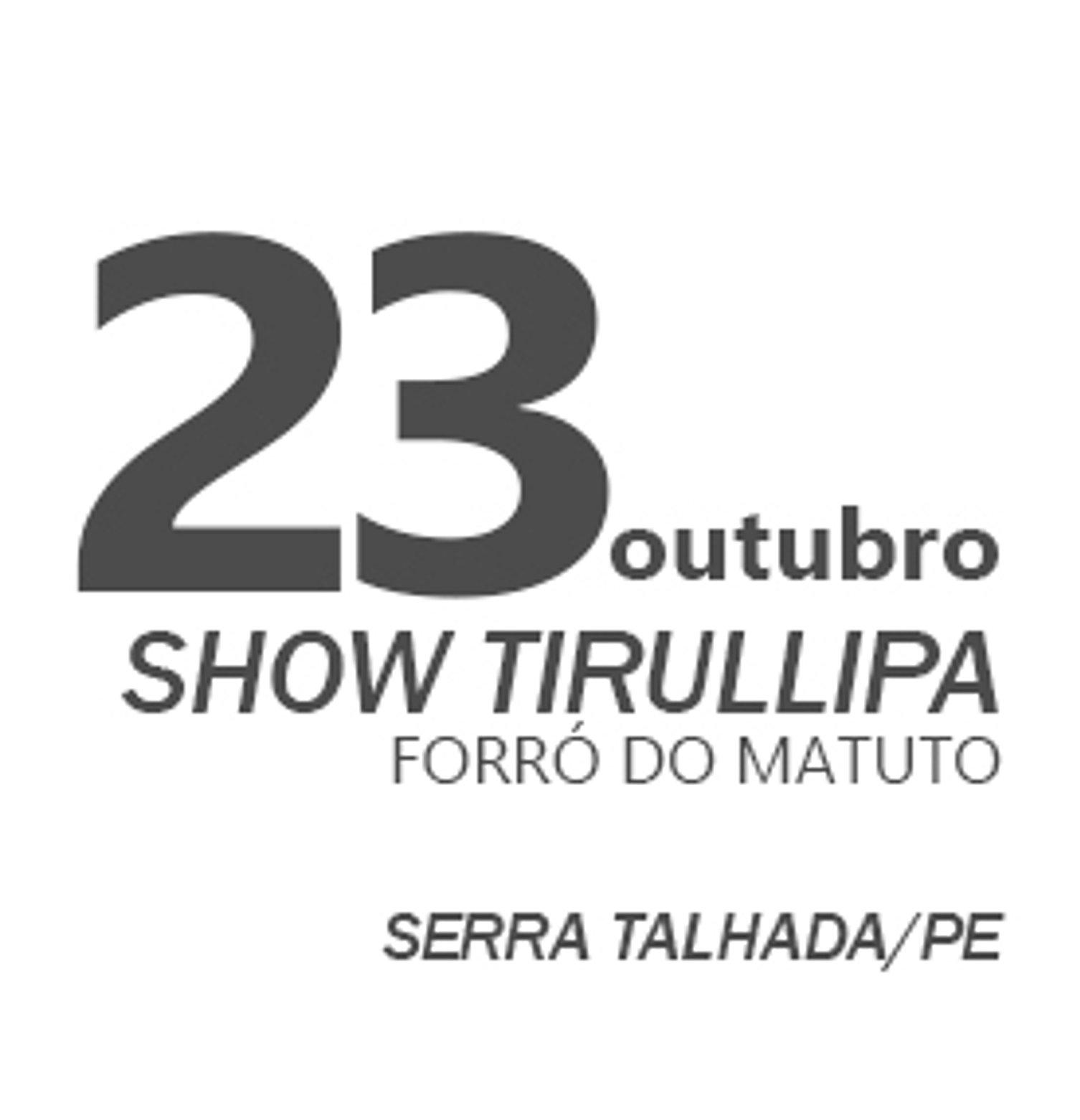 TIRULLIPA EM SERRA TALHADA/PE