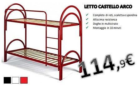 Disegno Idea » Letti A Castello Ferro - Idee Popolari per il ...