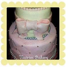 It's a Girl Baby Shower Cake