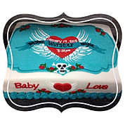 Baby Love Tattoo Baby Shower Cake