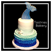 Mermaid Themed Cake in Bakersfield