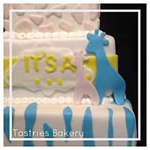 Baby Reveal Cake in Bakersfield