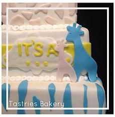 Baby Reveal Cake in Bakersfield