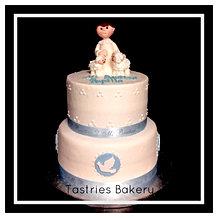 Precious Baptism Cake