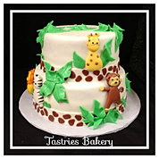 Safari Baby Shower Cake