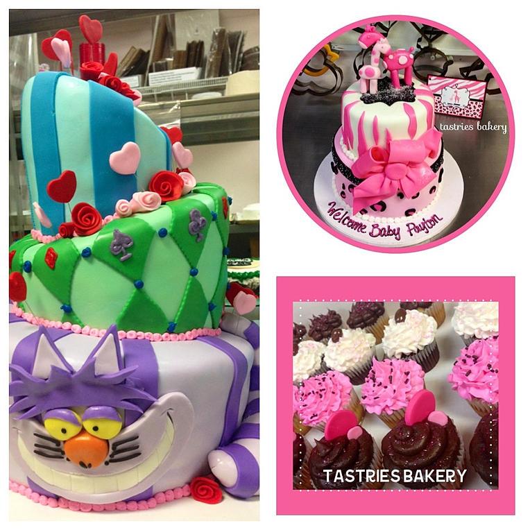 Alice in Wonderland Topsy Turvy Cake Alice in Wonderland Topsy