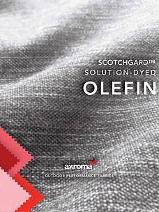 Axroma Outdoor Performance Fabrics Solution-Dyed Olefin Online Catalogue 2019