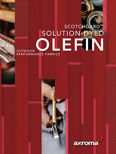 Axroma Outdoor Performance Fabrics Solution-Dyed Olefin Online Catalogue 2018