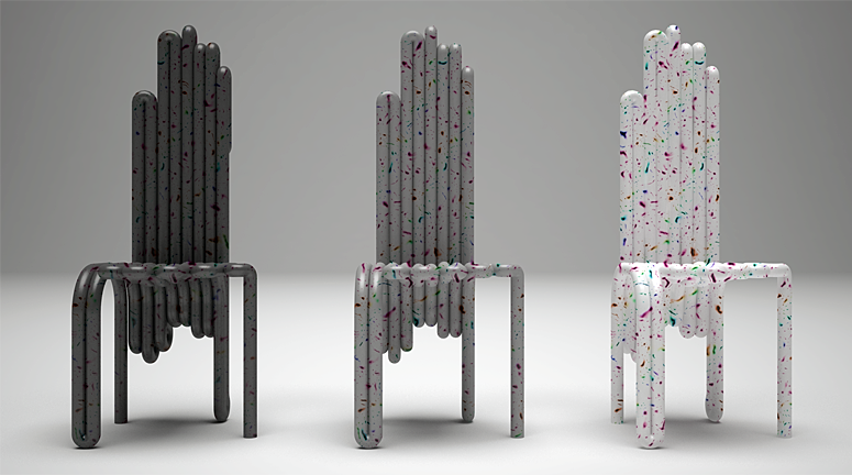 Tooba Basic Speckle Chair
