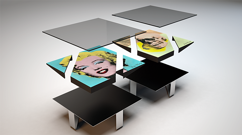 WARHOL Coffee Table
