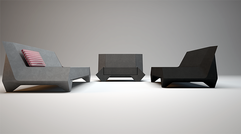 Rhombus Sofa Series
